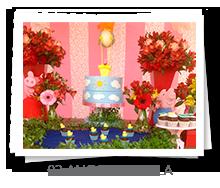 mesa&afins - Aniversário: 02 anos, Rafaela